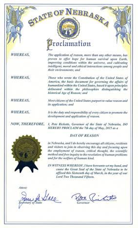 Nebraska Day of Reason