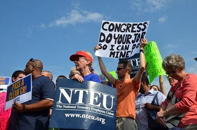 Government Shutdown Rally