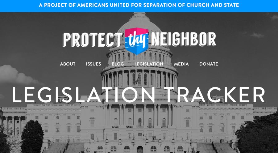 Legislation Tracker
