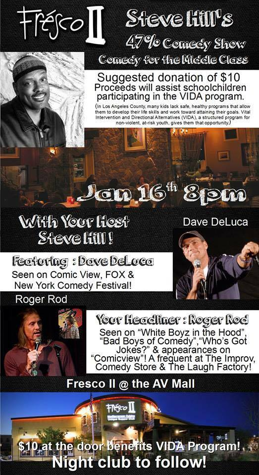 Steve Hill ticket. January comedy night event _n